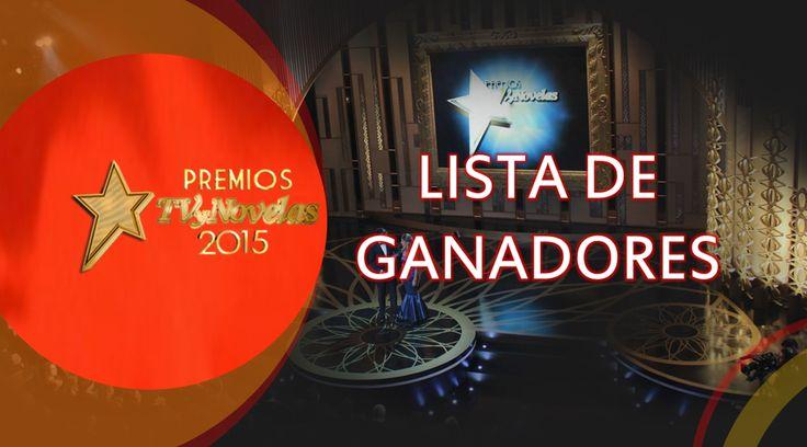 Ganadores Premios TvyNovelas Colombia 2015 - Critica Novela Tv