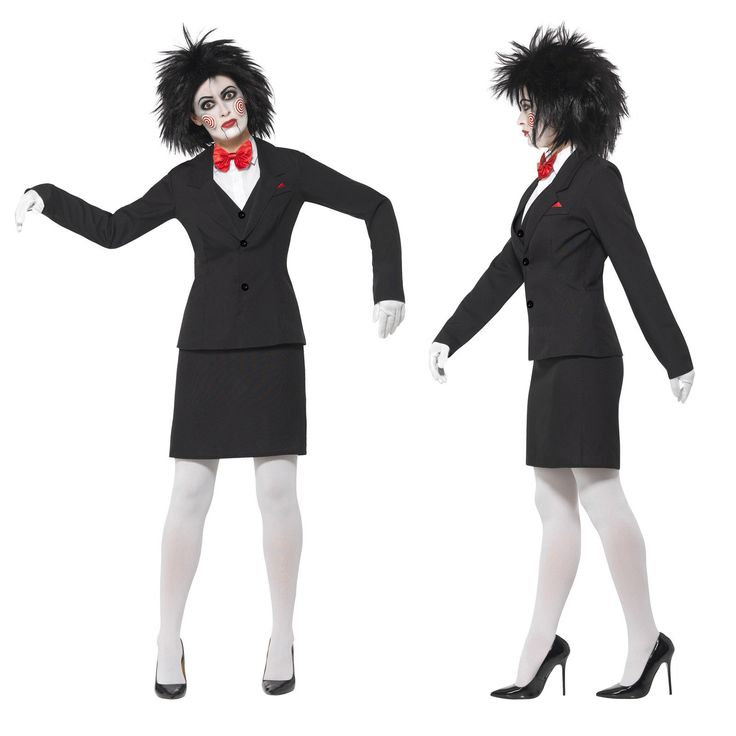 Smiffy's Ladies Official Licensed Saw Jigsaw Halloween Costume And Make Up Kit in Clothing, Shoes & Accessories, Costumes, Reenactment, Theater, Costumes | eBay