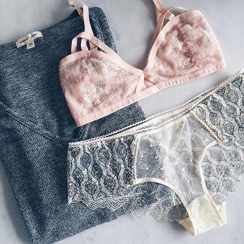 Imagen de fashion, lingerie, and style