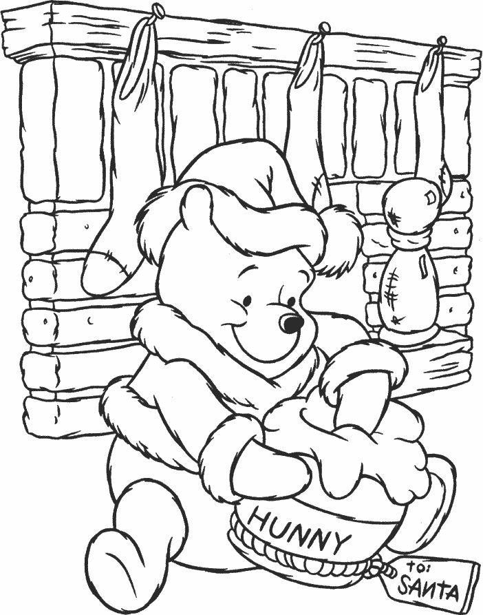 236 best Coloring Pages Disney Christmas images on Pinterest