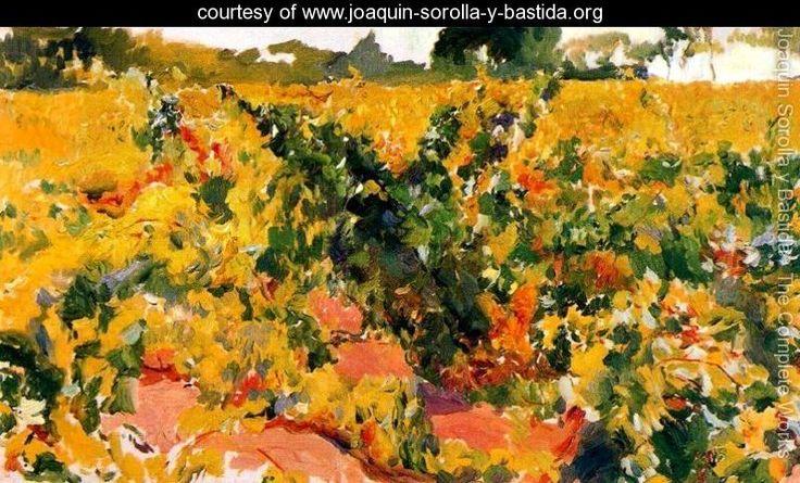 Vineyards study - Joaquin Sorolla y Bastida