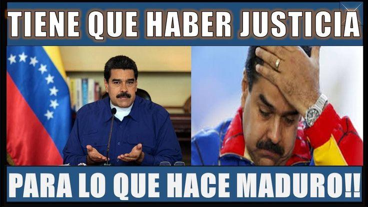 ULTIMAS NOTICIAS VENEZUELA 9 FEBRERO 2018TIENE QUE HABER JUSTICIA PARA LO QUE HIZO MADURO!!