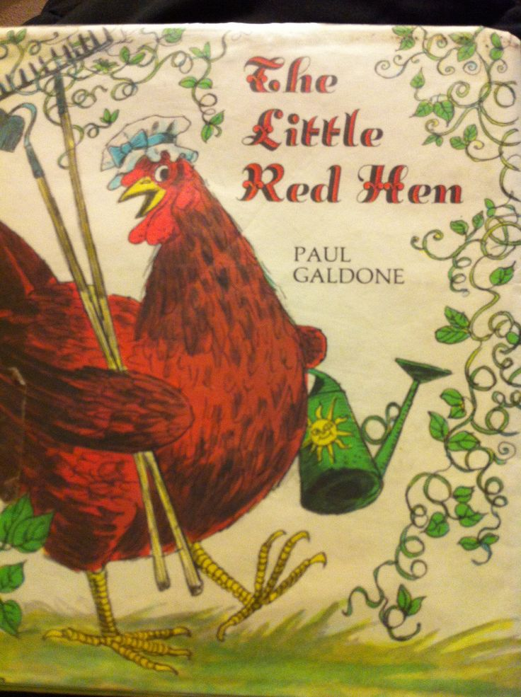 The Little Red Hen by Paul Galdone | books | Pinterest