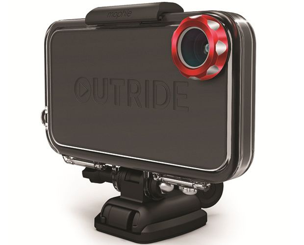Mophie Outride  Turn your iPhone into a waterproof wide-angle POV camera