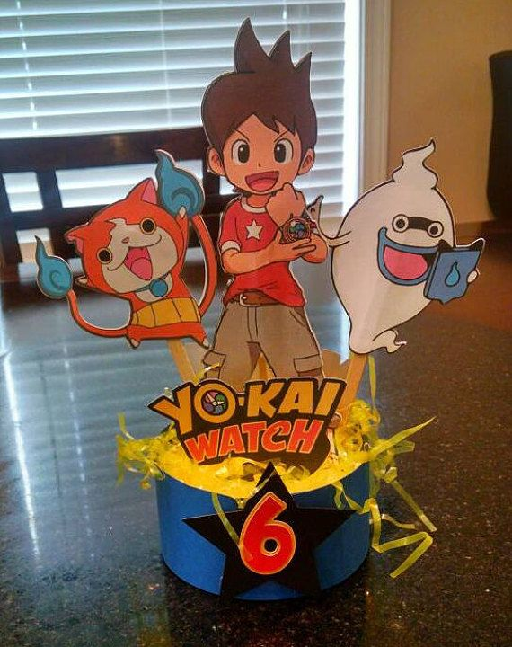 Yokai Watch Pick Centerpiece Yo-Kai Watch by PartyAnimalzShop
