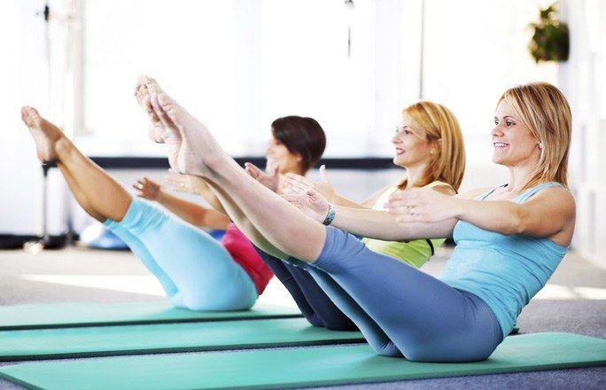 Pilates ćwiczenia na PŁASKI BRZUCH w domu 6 ŁATWYCH