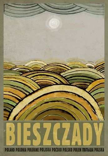 Bieszczady Mountains, Polish Promotion Poster