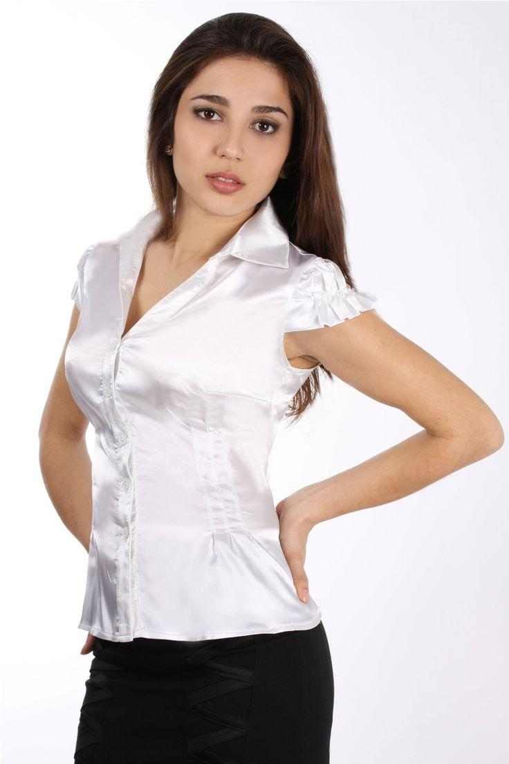 foto de 4855 best Satin images on Pinterest Satin blouses Satin