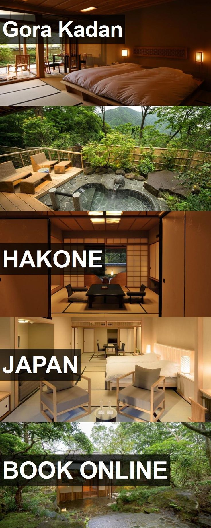 Hotel Gora Kadan in Hakone, Japan. For more information, photos, reviews and best prices please follow the link. #Japan #Hakone #travel #vacation #hotel