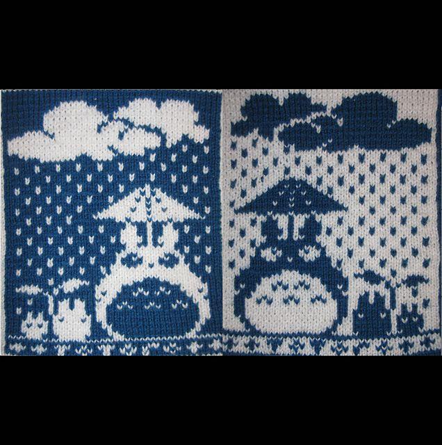Ravelry: hairykrishna's Totoro Washcloth