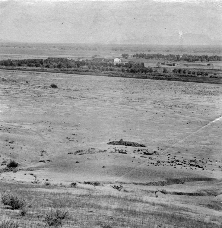 First known photograph of San Fernando Valley, 1873