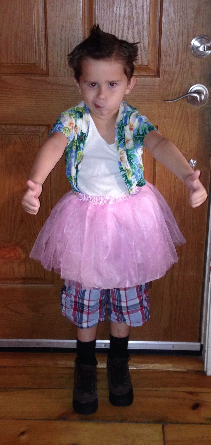 my 5 yr olds ace ventura costume for halloween - Ace Ventura Halloween Costumes