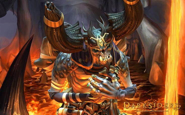 Vulgrim Demon Merchant (Darksiders Game) by JakeCarver