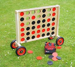 Outdoor wooden Connect 4