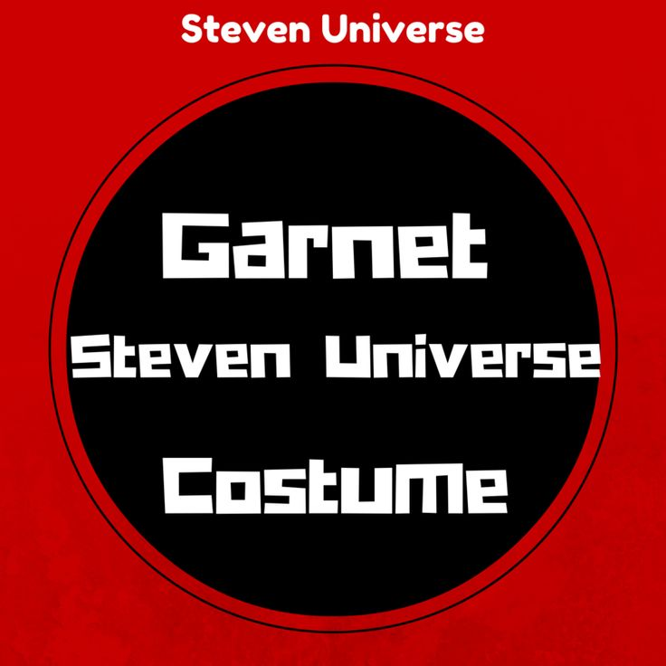 Today's tutorial is a Garnet Steven Universe costume, perfect for both Halloween and cosplay conventions and one that other fans will recognize instantly.