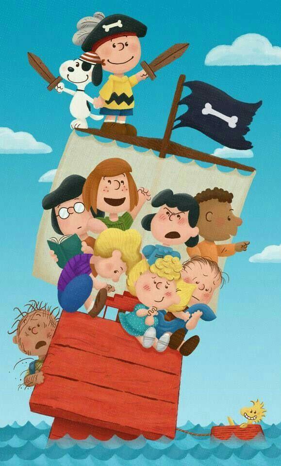 Peanuts as pirates