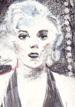 #marilyn #marilynmonroe #portrait