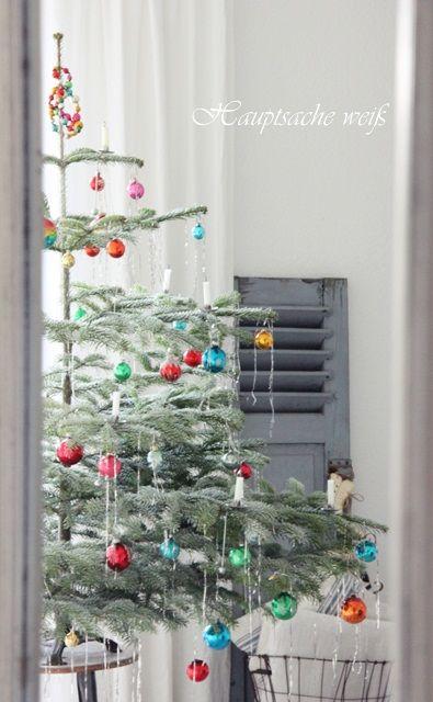 Hauptsache weiß: Simple Christmas Tree