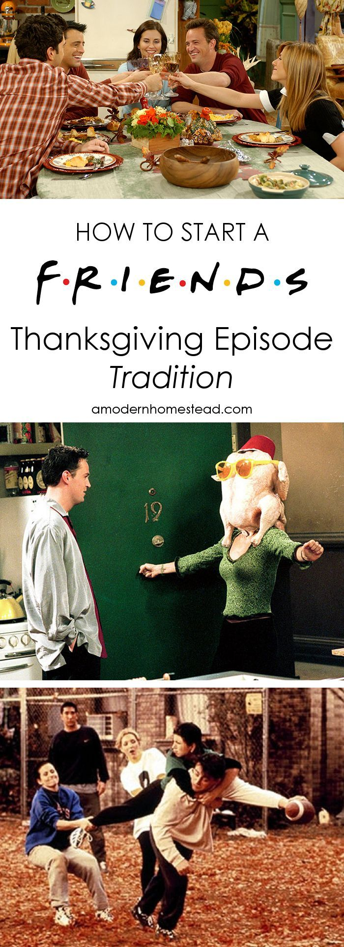 Christmas has a ton of traditions, it's time to start some Thanksgiving traditions too! And what a better way to start than with the Friends Thanksgiving episodes! Plus, it's free!