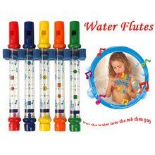 5 шт./лот детские игрушки в ванне дети Bathtime весело Flutes Set мальчики игрушек для купание душ музыкальные игрушки(China (Mainland))