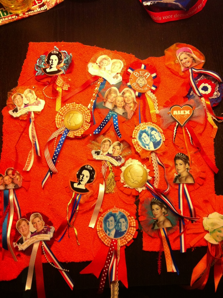 Koninginnedag corsages