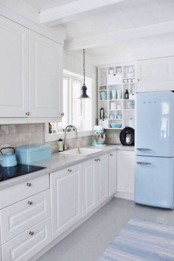 Bright and light kitchen