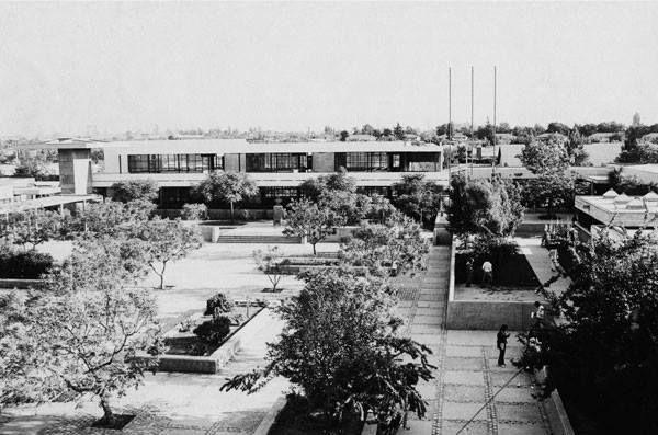 Escuela de Ingeniería de la PUC, Campus San Joaquín. 1960.