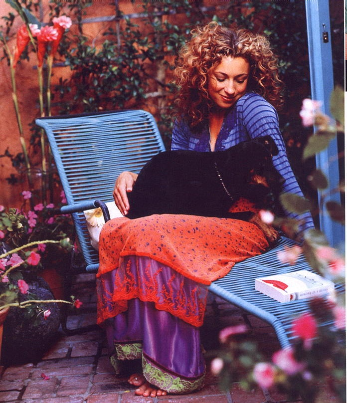 "Alex Kingston also known as ""River Song"" from Doctor Who"