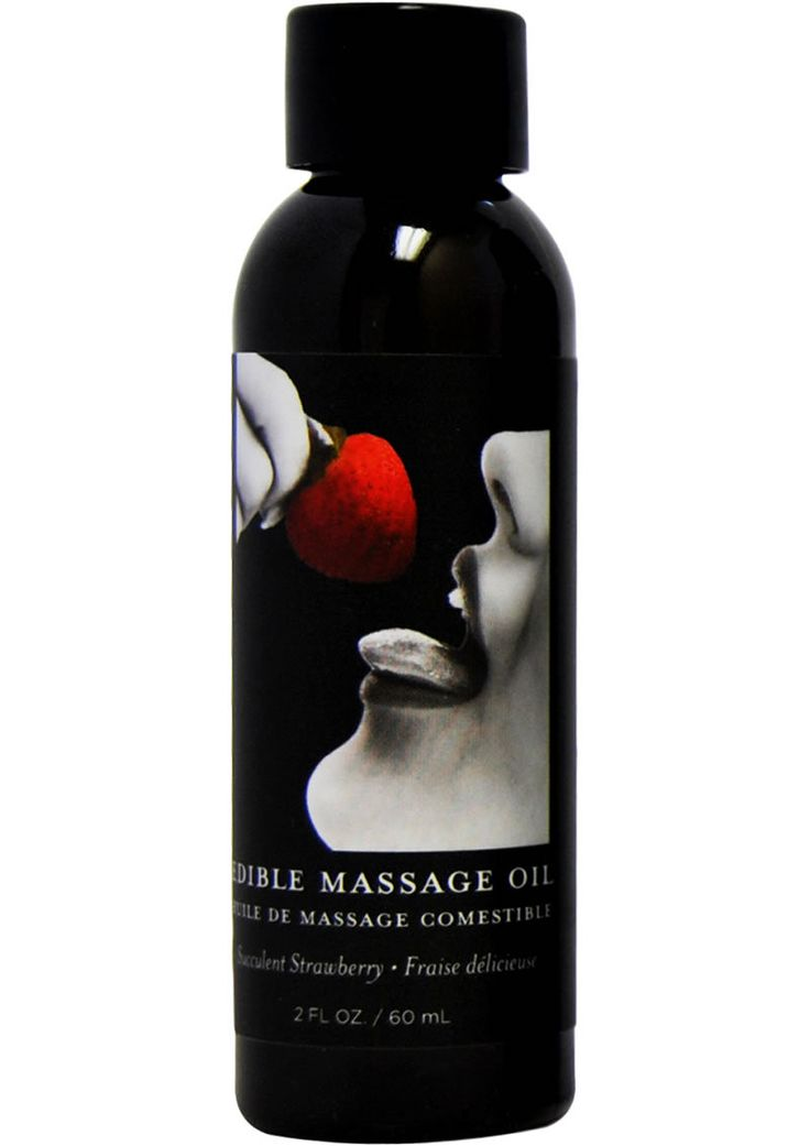 Buy Edible Massage Oil Strawberry 2 Ounce online cheap. SALE! $5.99