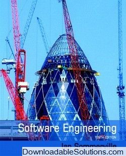 Solution Manual For Software Engineering 10th Edition Ian