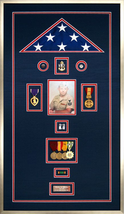 Gallery Custom Framed Military Medals And Ribbons