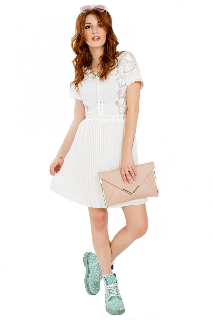 GIRLY GIRL CROCHET DRESS http://bit.ly/1DxZEq9 www.Hipsterdolly.com