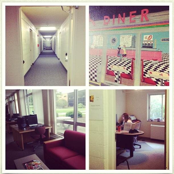 Visit Helen Ferris   Study In The Common Area   Walk Down The Office Hall   Part 71
