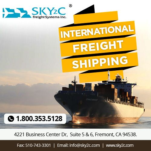 Affordable, Cost-effective & Low Cost International #FreightShipping Services. Contact Sky2c Freight System for more.