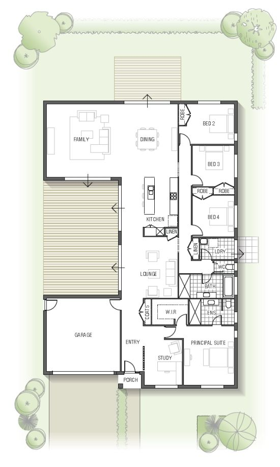 floor plan – Kamala 1832 N01, From the Arise Colle…