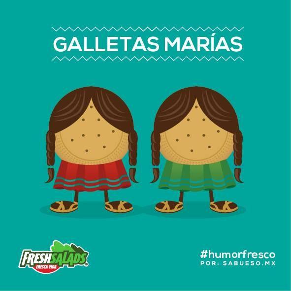 Galletas Marías #ilustración #humor