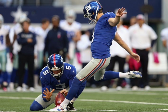 Lawrence Tynes leapfrogged up to No. 2 on the New York Giants all-time scoring list
