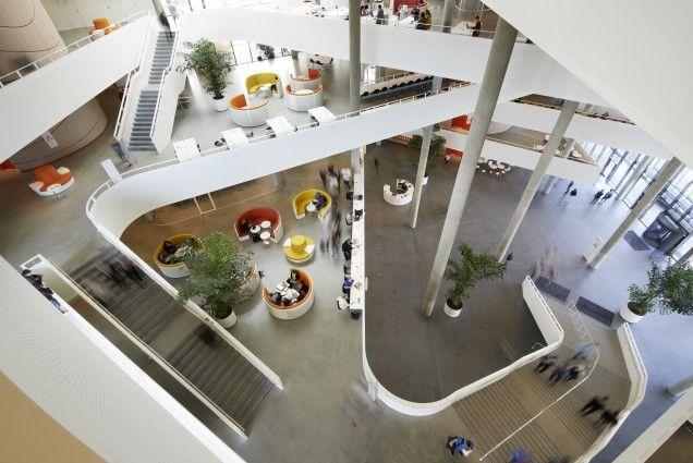 University of Southern Denmark (SDU) by Henning Larsen Architects