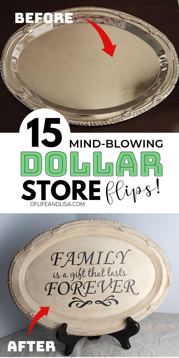 15 Mind-Blowing Dollar Store DIYs You'll Love