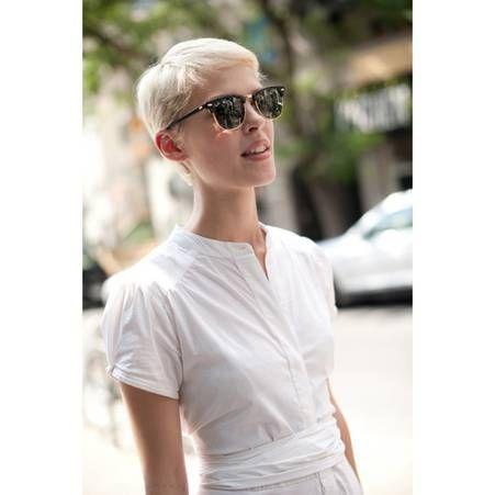 17 meilleures id es propos de cheveux blond platine sur pinterest blond platine m ches - Blond platine gris ...