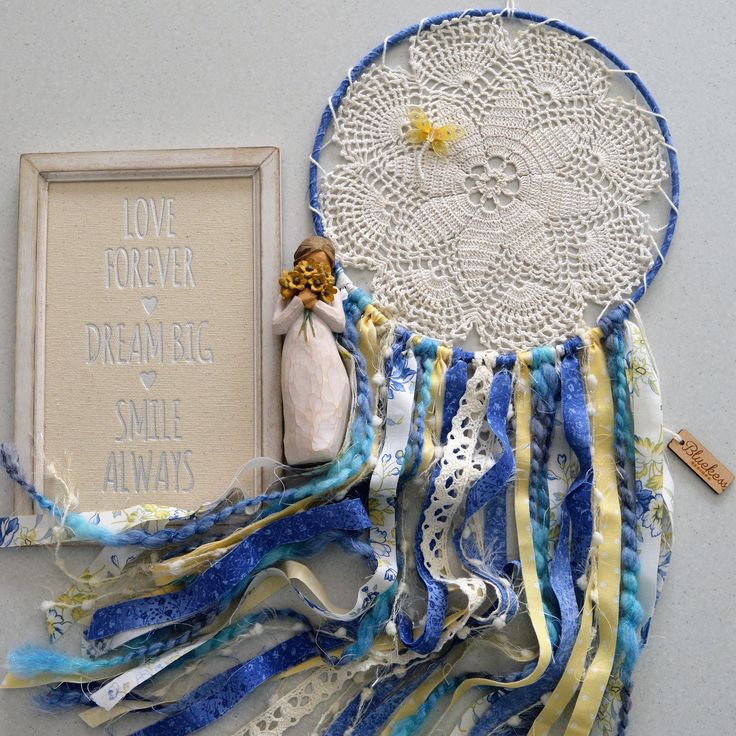 A personal favourite from my Etsy shop https://www.etsy.com/au/listing/477638036/boho-up-cycled-vintage-dream-catcher-in