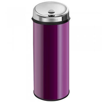 Inmotion 50L Purple Stainless Steel Auto Automatic Sensor Kitchen Waste Dust Bin - Inmotion from TAPS UK