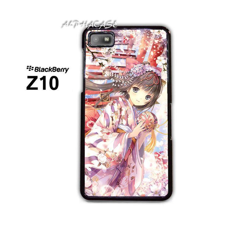 Geisha Among Cherry Blossoms BB BlackBerry Z10 Z 10 Case