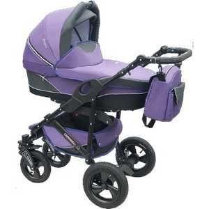 Camarelo Chrome Sport сиреневый Q12 K244  — 18623р. ------------ Механизм книжка  Цвет фиолетовый  Вес ребенка (макс) до 20 кг  Возраст ребенка От 0 месяцев  Пол ребенка унисекс  Вес коляски (макс) 13.0 кг  Автокресло в комплекте нет  Колеса надувные  Количество колес 4  Ремни безопасности да  Тип ремней безопасности пятиточечные  Съемные колеса да  Поворотные передние колеса/колесо да  Перекидная ручка да  Перекладина перед ребенком да  Съемная перекладина да  Ручной тормоз нет  Регулировка…