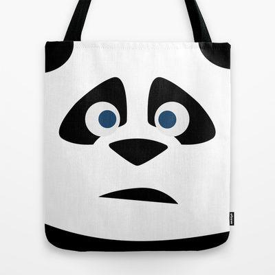 EL Panda Tote Bag by TROOKEYE DESIGN - $22.00
