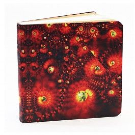 Flaming Art Dotted Notebook - BFDT4X4(C)