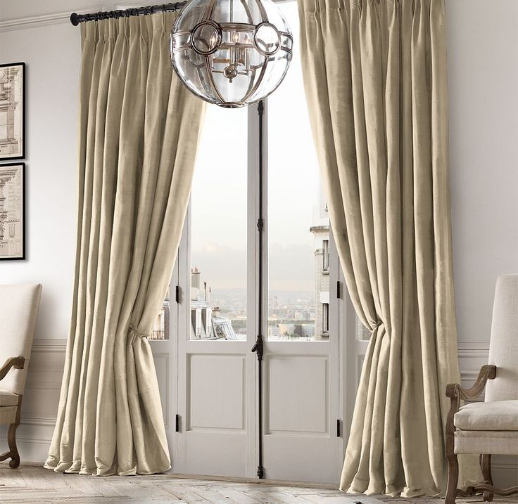 17 best images about baby girl on pinterest pottery for Restoration hardware silk curtains