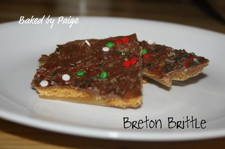 Baked by Paige: Breton Brittle