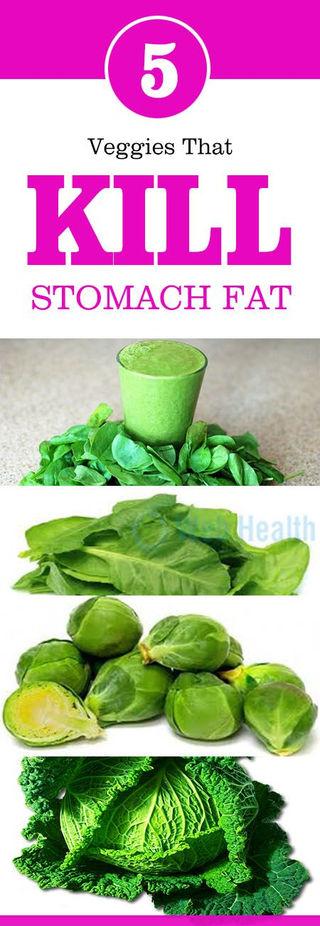 Veggies That KILL Stomach Fat | Weight Loss & Dieting Tips ...