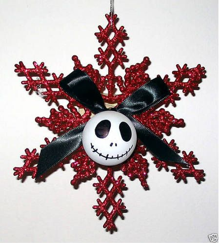 Inspiration for my Nightmare Before Christmas tree that I am gonna do next year...